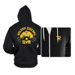 The Golden Oozaru Gym - Hoodies - Hoodies - RIPT Apparel