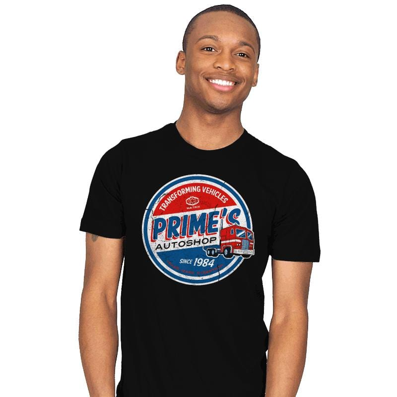 Prime's Autos - Mens - T-Shirts - RIPT Apparel