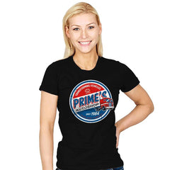 Prime's Autos - Womens - T-Shirts - RIPT Apparel