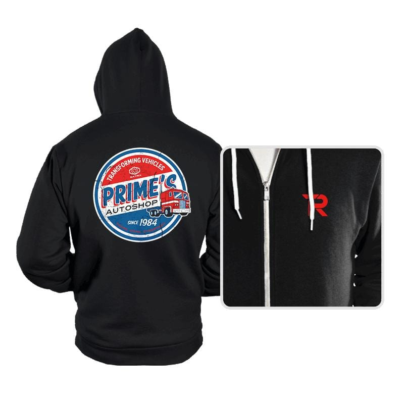 Prime's Autos - Hoodies - Hoodies - RIPT Apparel