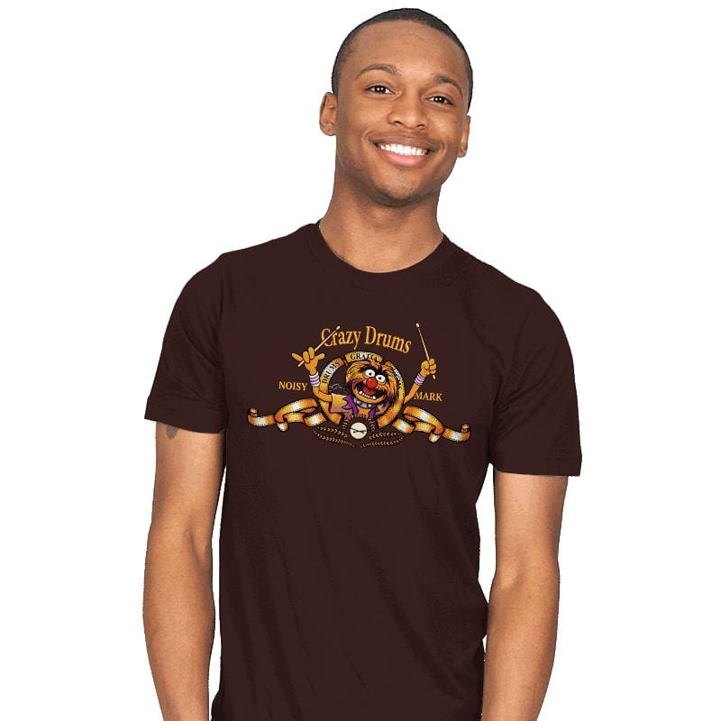 Crazy Drums - Mens - T-Shirts - RIPT Apparel