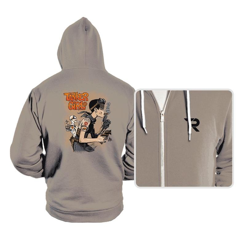 Tanker Girl - Hoodies - Hoodies - RIPT Apparel