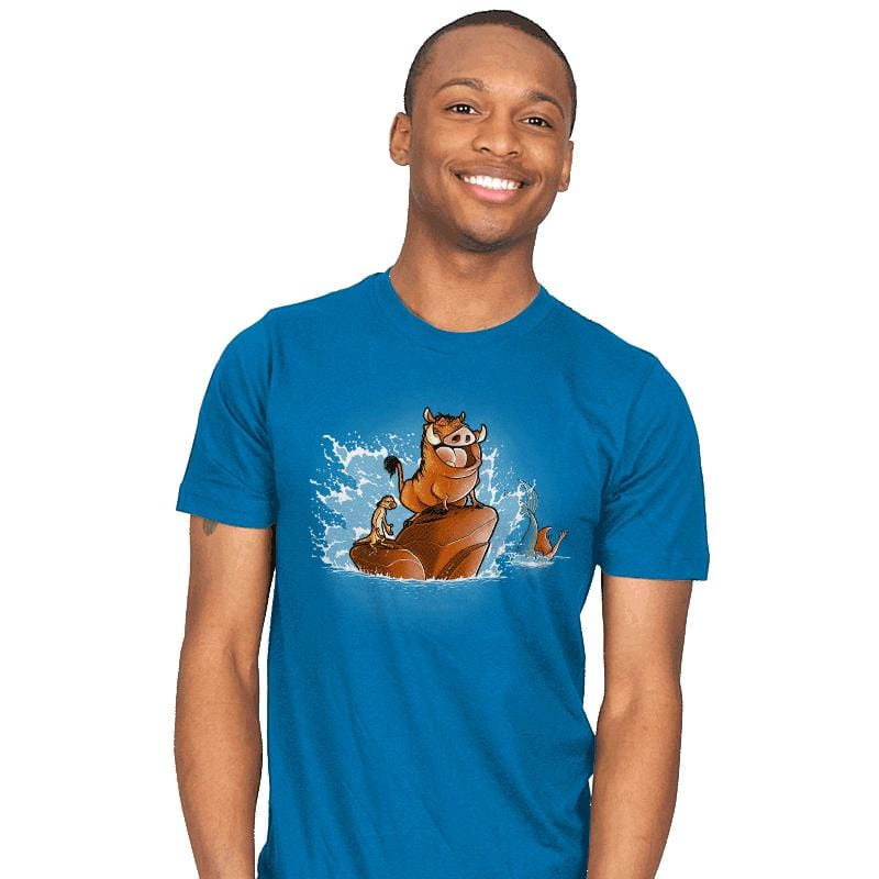 The Little Phacochoerus - Mens - T-Shirts - RIPT Apparel