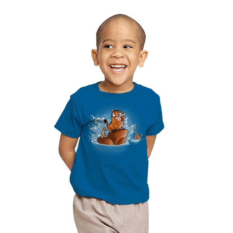 The Little Phacochoerus - Youth - T-Shirts - RIPT Apparel