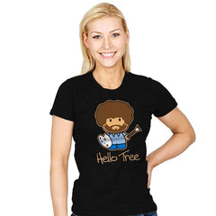 Hello Tree - Womens - T-Shirts - RIPT Apparel