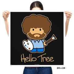 Hello Tree - Prints - Posters - RIPT Apparel