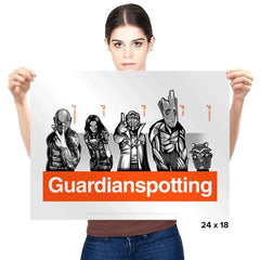 Guardianspotting - Prints - Posters - RIPT Apparel