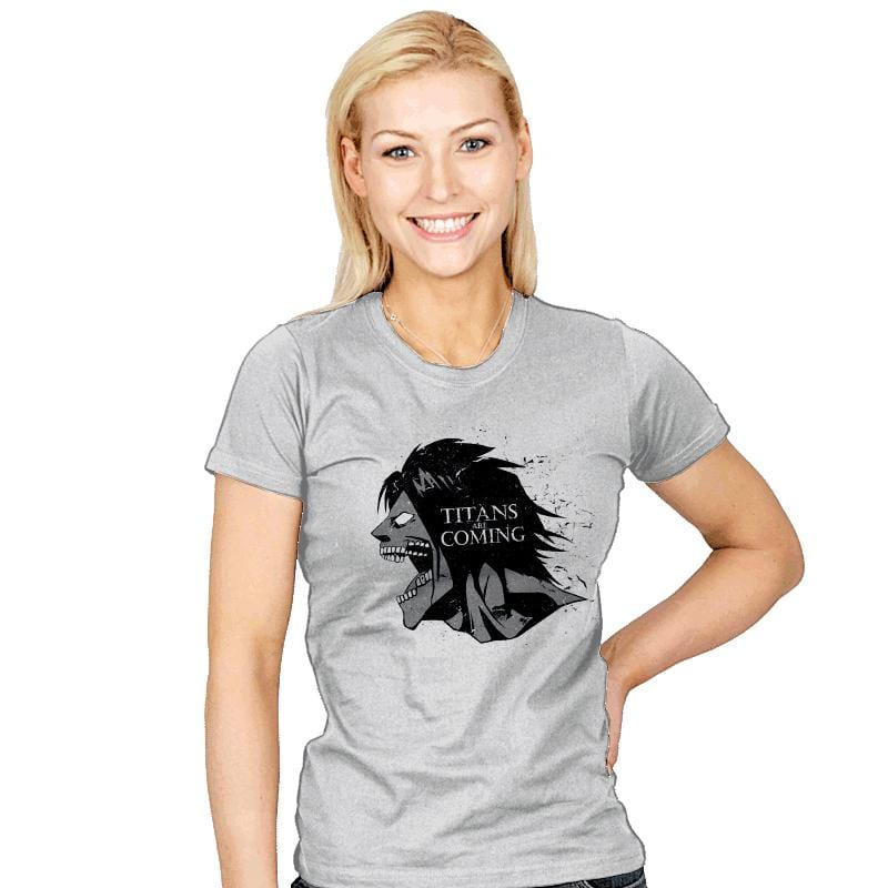 Titans are Coming - Womens - T-Shirts - RIPT Apparel