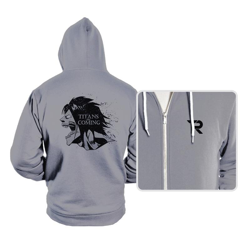 Titans are Coming - Hoodies - Hoodies - RIPT Apparel