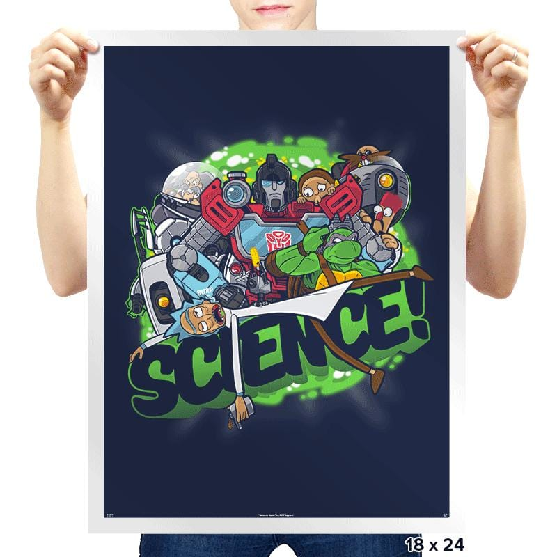 SCIENCE! - Prints - Posters - RIPT Apparel