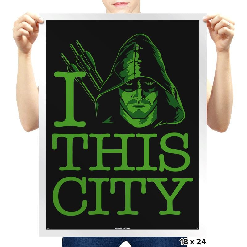 I Heart This City - Prints - Posters - RIPT Apparel