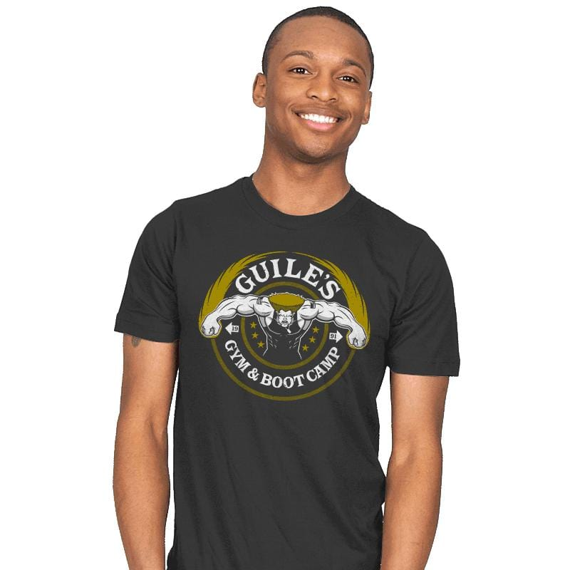 Guile's Gym & Boot Camp - Mens - T-Shirts - RIPT Apparel