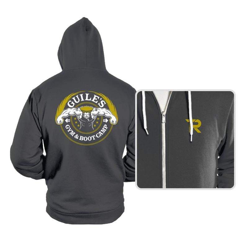 Guile's Gym & Boot Camp - Hoodies - Hoodies - RIPT Apparel
