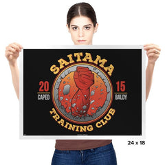Saitama Training Club - Prints - Posters - RIPT Apparel
