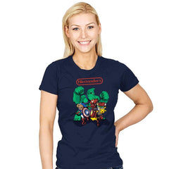 Nintenders - Womens - T-Shirts - RIPT Apparel