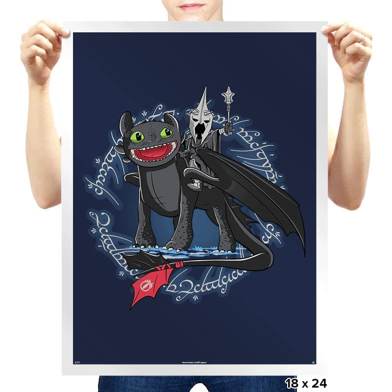 Witch King of Berk - Prints - Posters - RIPT Apparel