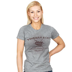 Venkman & Co. - Womens - T-Shirts - RIPT Apparel