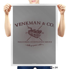 Venkman & Co. - Prints - Posters - RIPT Apparel