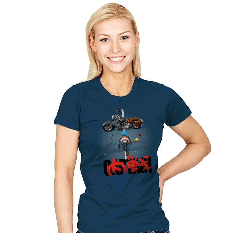Neo-War - Womens - T-Shirts - RIPT Apparel