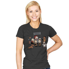 The Busters Are In - Womens - T-Shirts - RIPT Apparel