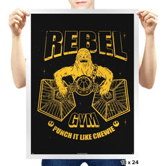 Rebel Gym - Prints - Posters - RIPT Apparel