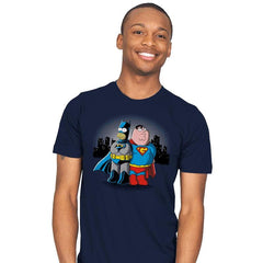 BatHomer V SuperGriffin - Mens - T-Shirts - RIPT Apparel