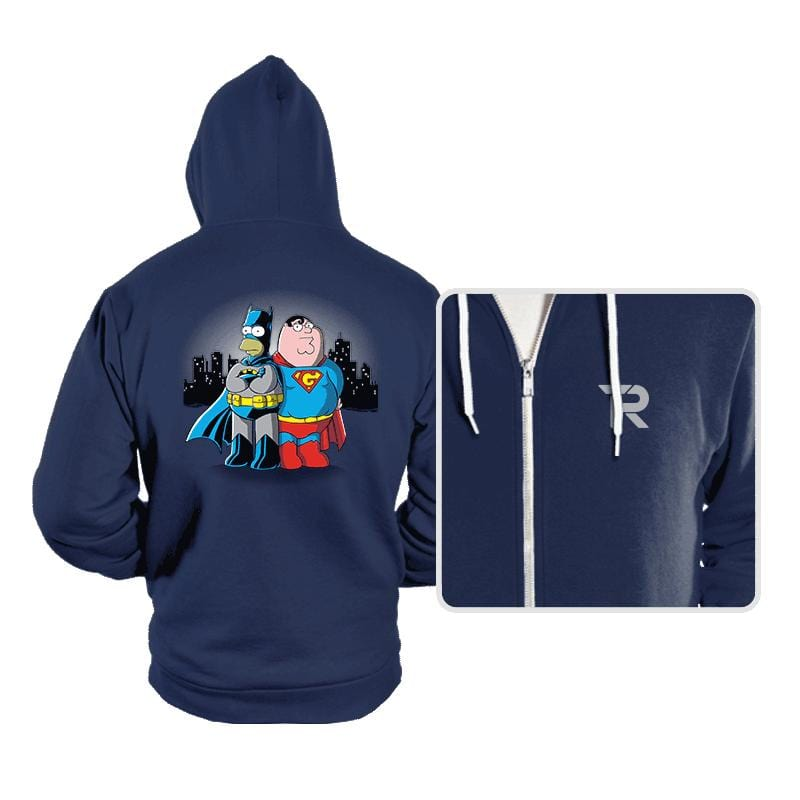 BatHomer V SuperGriffin - Hoodies - Hoodies - RIPT Apparel