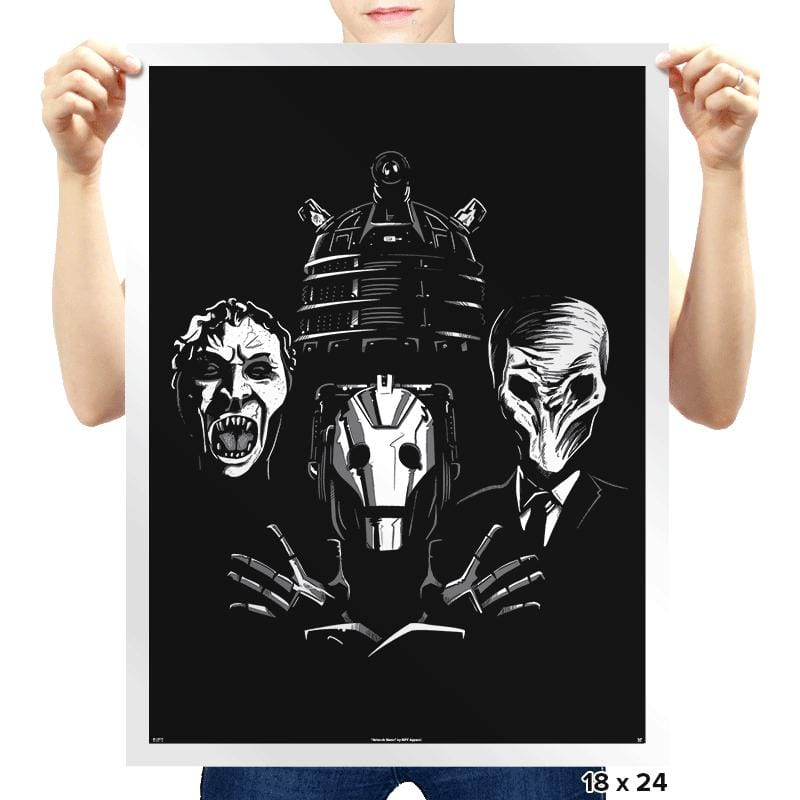 Villain Rhapsody - Prints - Posters - RIPT Apparel