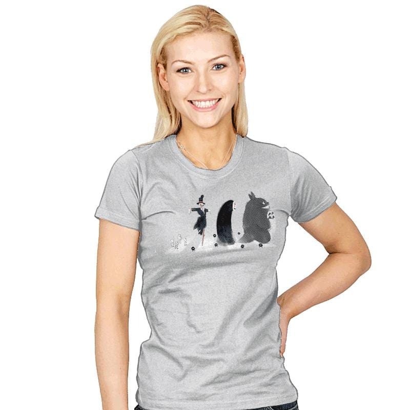 Ghibli Road - Womens - T-Shirts - RIPT Apparel