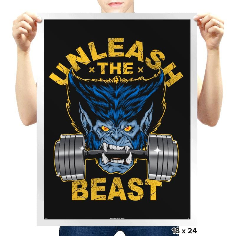 Unleash - Prints - Posters - RIPT Apparel