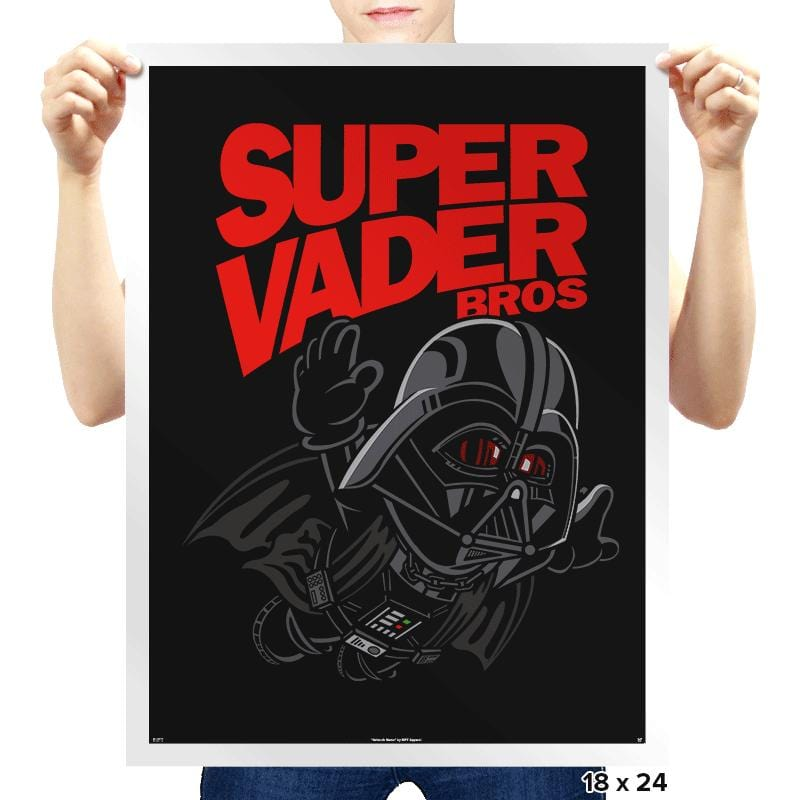 Super Vader Bros - Prints - Posters - RIPT Apparel