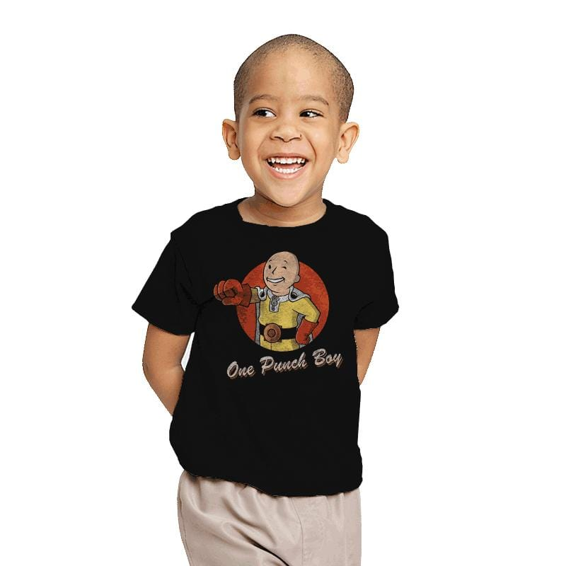 One Punch Boy - Youth - T-Shirts - RIPT Apparel