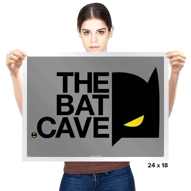 The North Cave - Prints - Posters - RIPT Apparel
