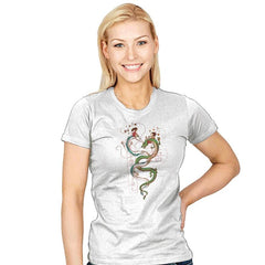 Dancing Dragons - Womens - T-Shirts - RIPT Apparel
