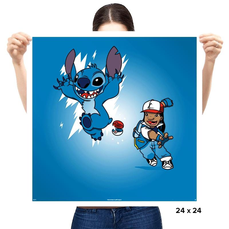 Pokestitch - Prints - Posters - RIPT Apparel