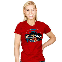 Powderpuff Trinity - Womens - T-Shirts - RIPT Apparel