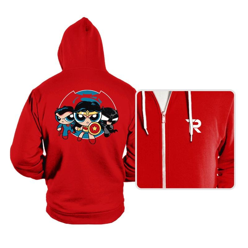 Powderpuff Trinity - Hoodies - Hoodies - RIPT Apparel