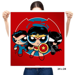 Powderpuff Trinity - Prints - Posters - RIPT Apparel