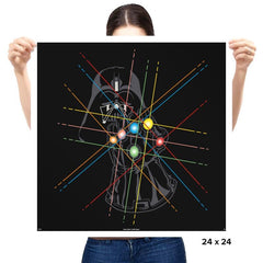 Infinity Galaxy - Prints - Posters - RIPT Apparel