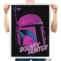 Bounty Hunter 80's - Prints - Posters - RIPT Apparel