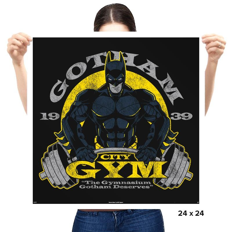 Gotham Gym - Prints - Posters - RIPT Apparel