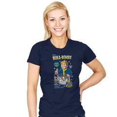 Nuka-Bombs - Womens - T-Shirts - RIPT Apparel