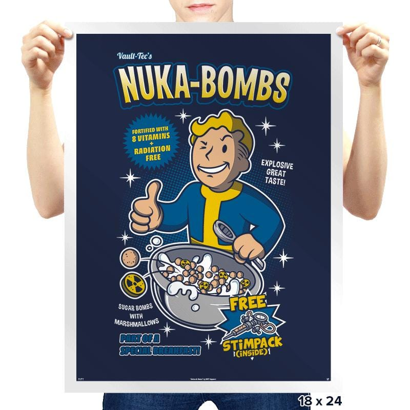 Nuka-Bombs - Prints - Posters - RIPT Apparel
