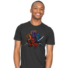 Teenage (Not) Mutant Ninja Deadpools - Mens - T-Shirts - RIPT Apparel