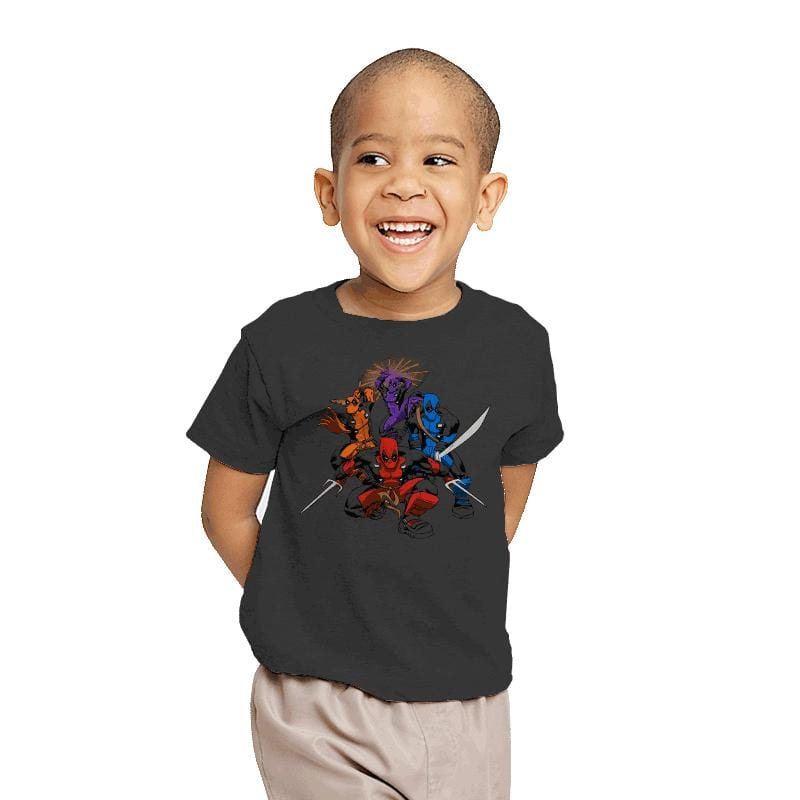 Teenage (Not) Mutant Ninja Deadpools - Youth - T-Shirts - RIPT Apparel