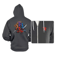Teenage (Not) Mutant Ninja Deadpools - Hoodies - Hoodies - RIPT Apparel