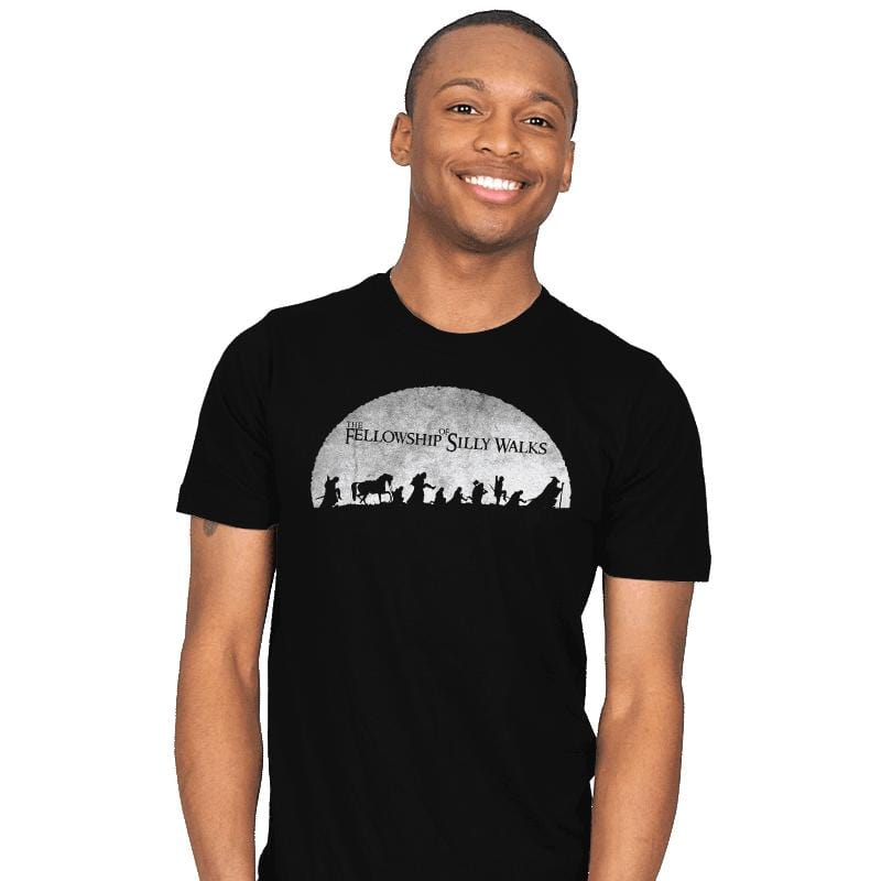 The Fellowship of Silly Walks - Mens - T-Shirts - RIPT Apparel