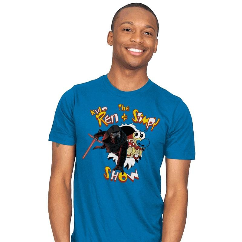 K. Ren & Stimpy Show Exclusive - Mens - T-Shirts - RIPT Apparel