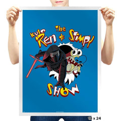 K. Ren & Stimpy Show Exclusive - Prints - Posters - RIPT Apparel