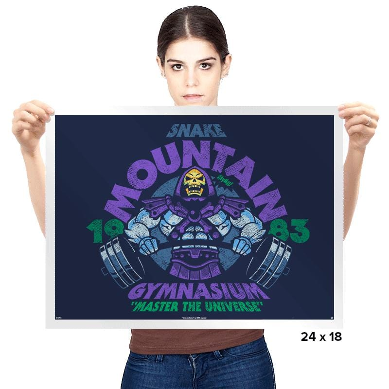 Snake Mountain Gym Exclusive - Prints - Posters - RIPT Apparel